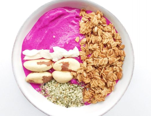 Pink Goddess Smoothie Bowl