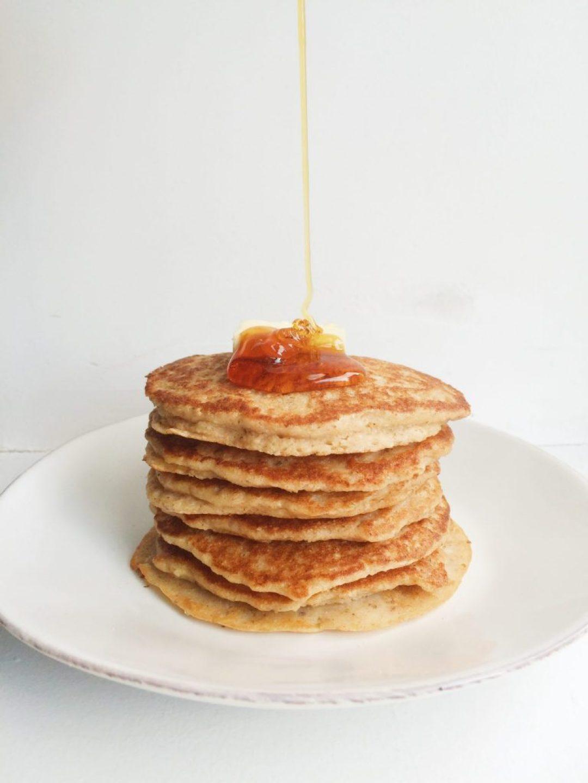 Apple Walnut Pancakes