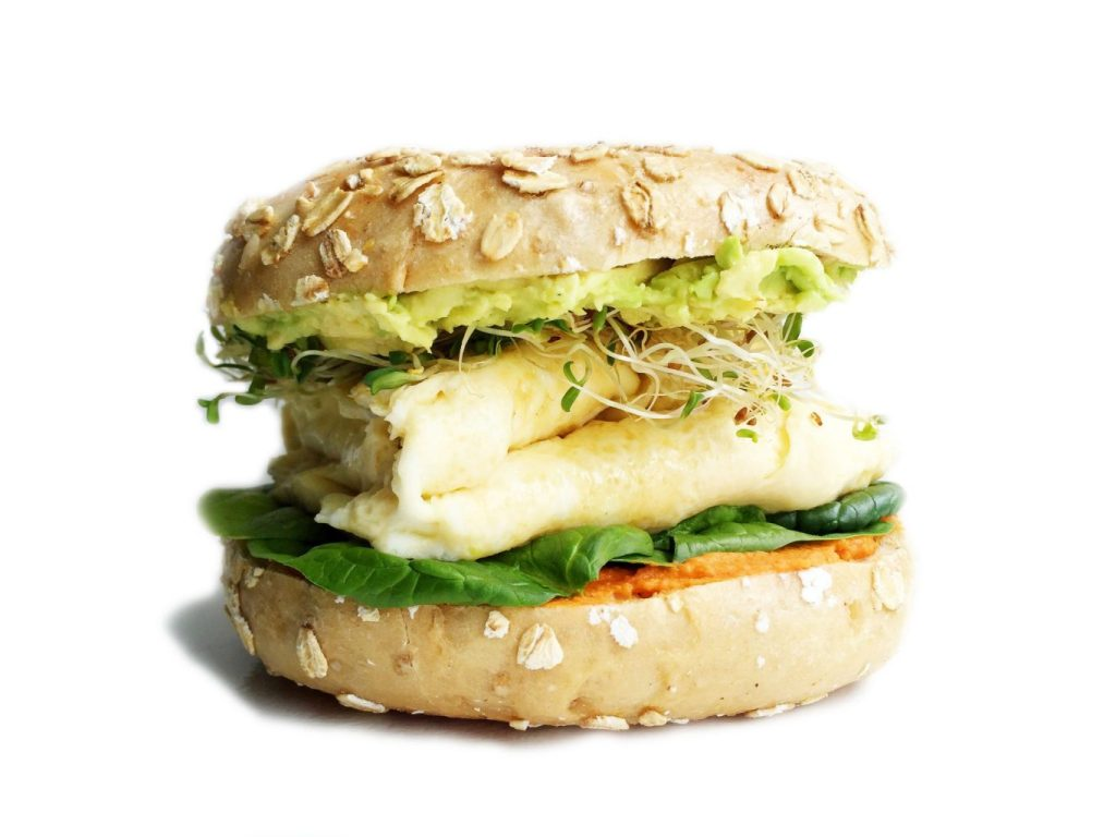 The Ultimate Vegetarian Breakfast Sandwich by rachLmansfield