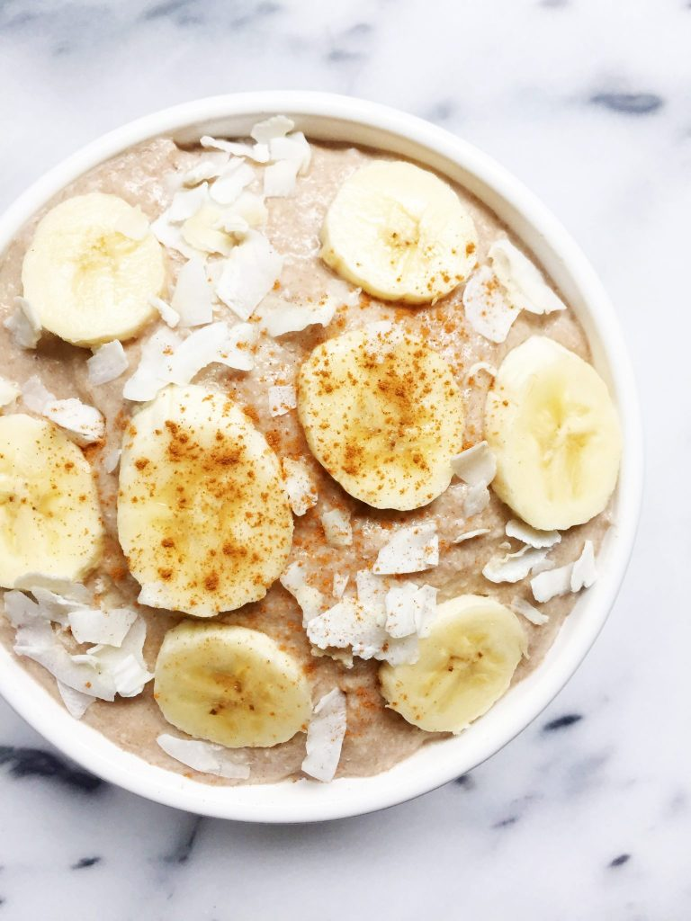 5-minute Paleo Oatmeal made with 7 ingredients