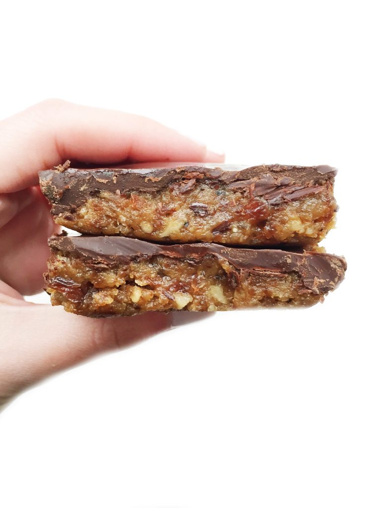 Quinoa Chocolate Crunch Bars by rachLmansfield