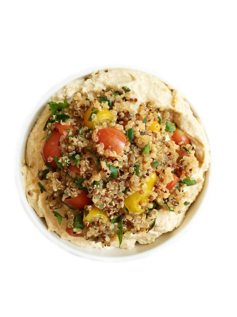Quinoa Tabbouleh Hummus by rachLmansfield