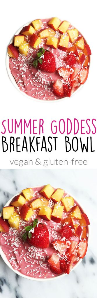 Summer Goddess Breakfast Bowl by rachLmansfield