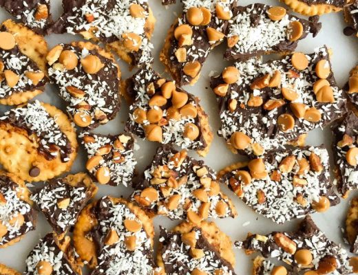 Nutty Chocolate Crack(er) Brittle (gluten-free)