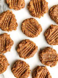 10-minute Vegan Almond Butter Cookies