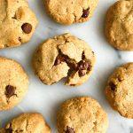 Super Doughy Vegan Chocolate Chip Cookies (grain-free)