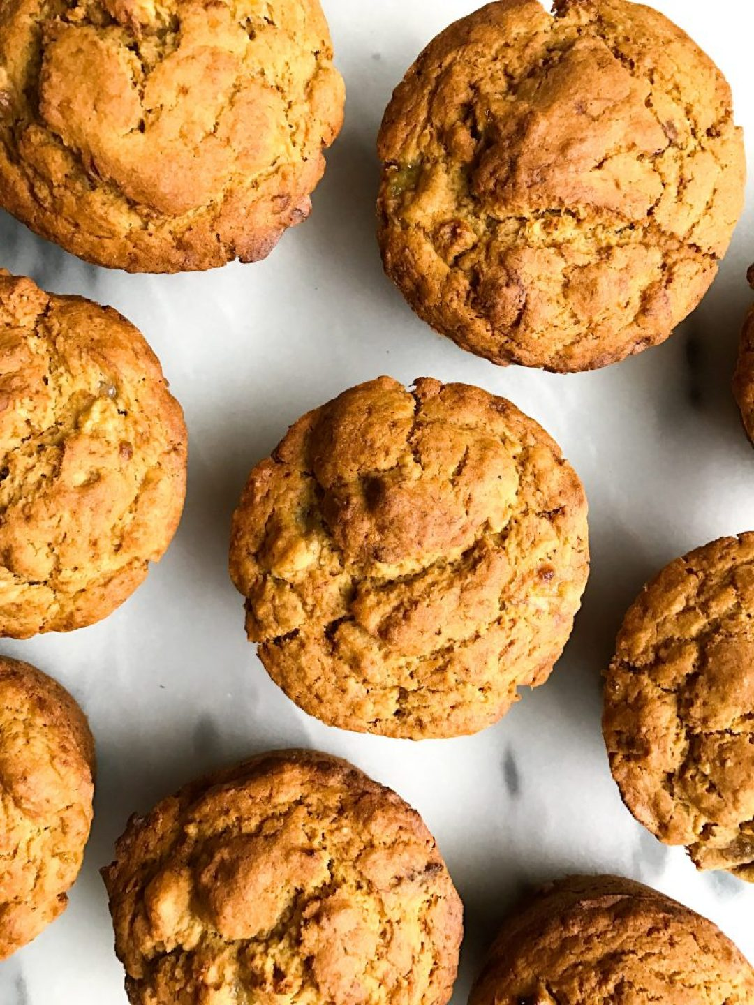 Healthy Bakery Style Banana Spice Muffins that are gluten-free and perfect for a breakfast treat!