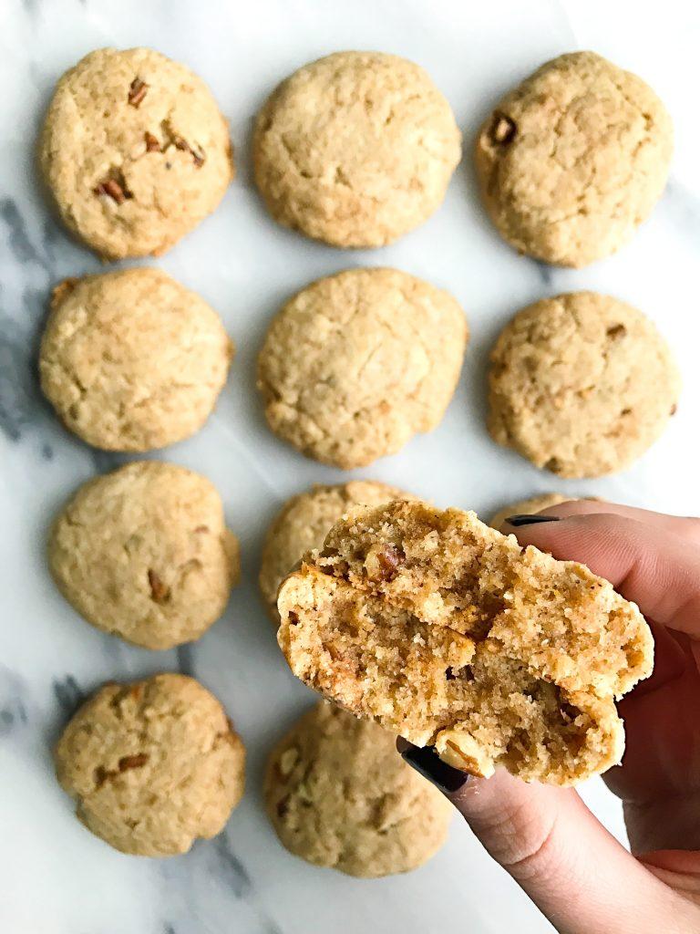 Super Soft Paleo Maple Pecan Cookies