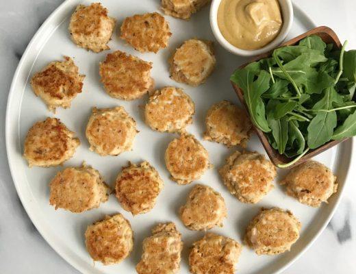10-minute Garlicky Cauliflower Squash Bowls