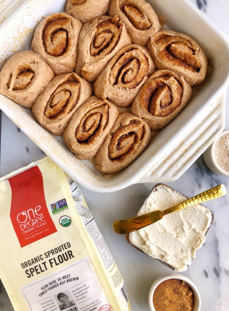 Healthy Vegan Cinnamon Rolls Yeast Free Rachlmansfield