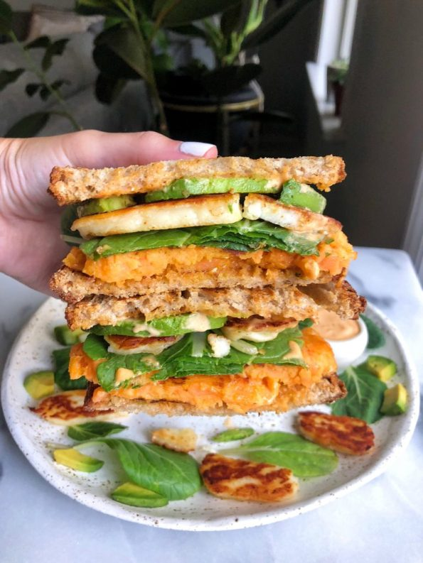 The Easiest Waffled Veggie Panini