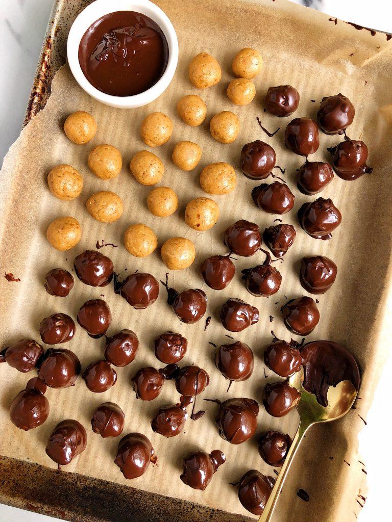 5-ingredient Copycat Peanut Butter M&Ms (gluten-free)
