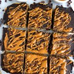 Dark Chocolate Sweet Potato Breakfast Bars made with vegan and gluten-free ingredients for a delicious homemadebreakfast and snack bar!