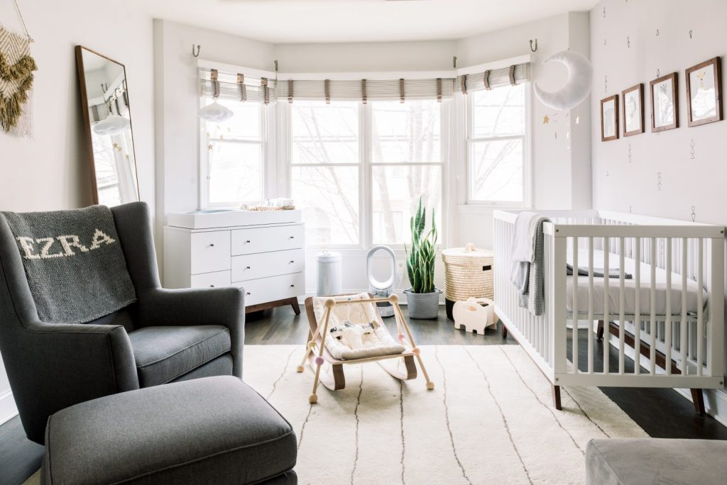 Ezra's nursery reveal with room & board
