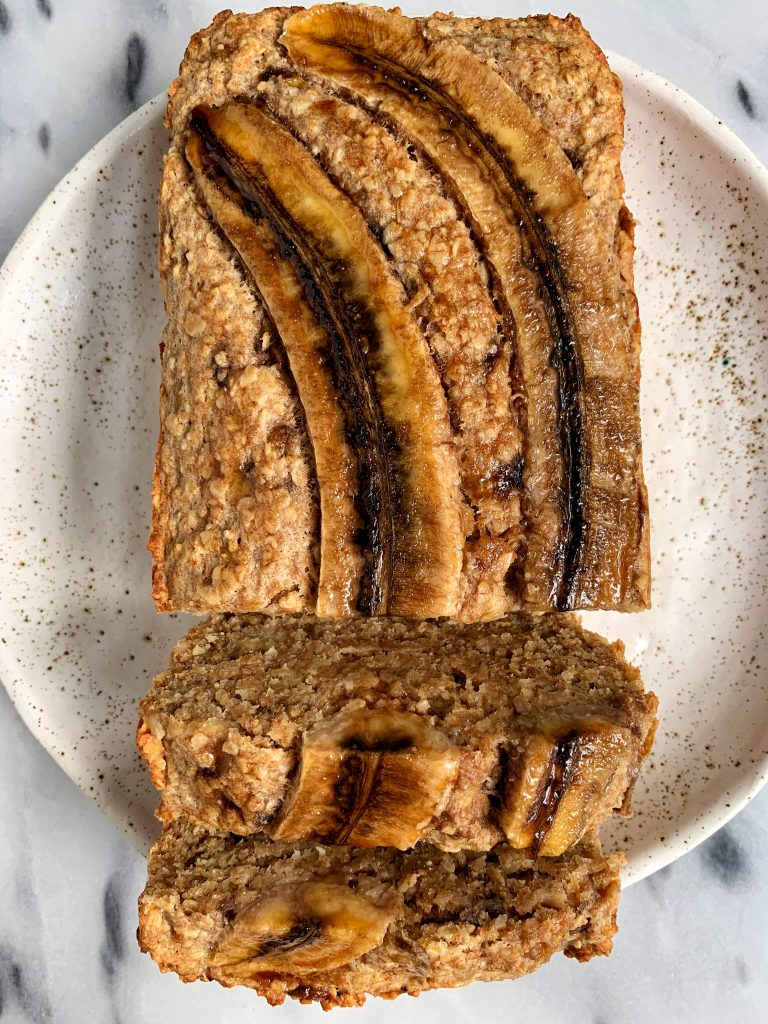 Sharing my Classic Banana Bread Recipe made with all gluten-free ingredients for an easy, no-frills, healthy kind of banana bread recipe!