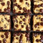 Gluten-free Chocolate Chip Cookie Brownies (dairy-free)
