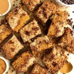 Life Changing Healthy Chocolate Chip Crumb Cake (grain-free)