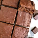 The Best Paleo Chocolate Sheet Cake (nut-free)