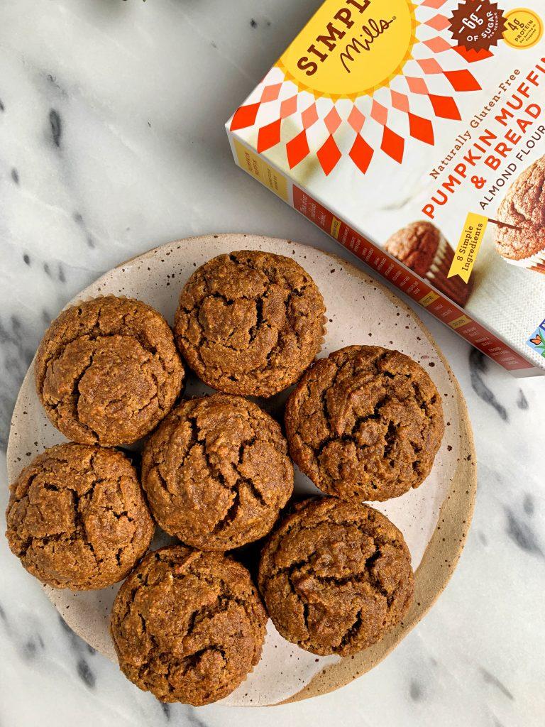 The Best Paleo Pumpkin Banana Bread Muffins