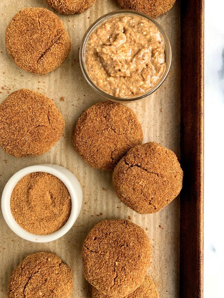 healthy gingerbread cookies