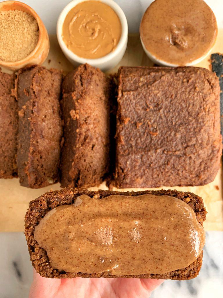 paleo gingerbread loaf