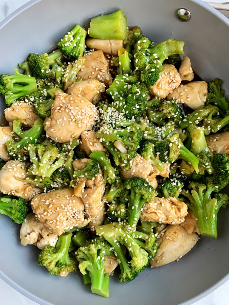 Easy Whole30 Chinese Chicken And Broccoli - Rachlmansfield-8953