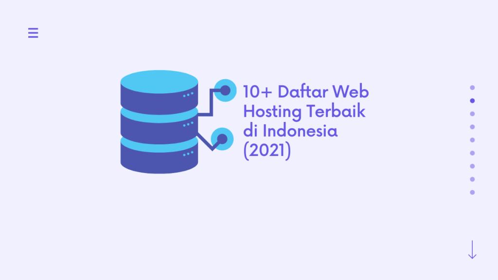 Daftar Web Hosting Terbaik di Indonesia (2021)