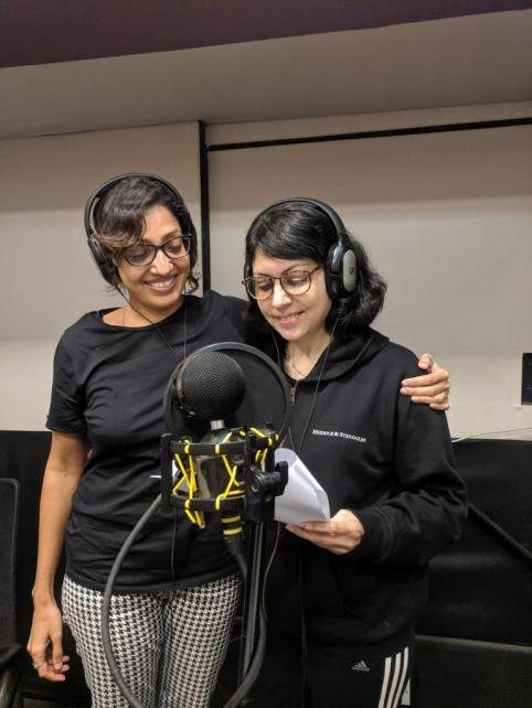 Rachna Chhachhi with Dr Bhavana Gautam