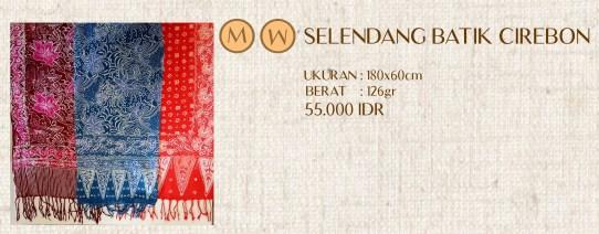 Selendang Batik Tulis Cirebon