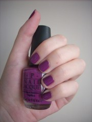 opi pamplona purple nail polish