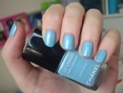chanel coco blue nail polish