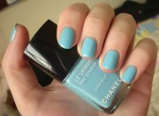 chanel coco blue nail polish