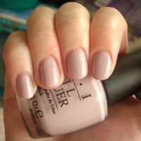 OPI Steady As She Rose nail polish review