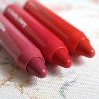 Clinique Chubby Sticks in Heftiest Hibiscus, Chunky Cherry and Jumbo Jasmine review