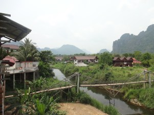 the beauty of Vang Vieng