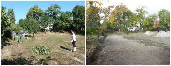 Takto sa menil plot od apríla 2011 až do októbra 2013, kedy je pripravená výmena starého plota za nový.
