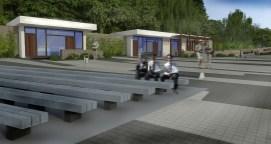 Architektonická štúdia Amfiteáter Rača (2013)