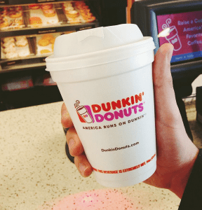 Photo credit: Dunkin' Donuts Facebook