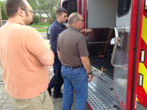 SSFD Remounted Ambulance