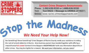Crime Stoppers of Racine County