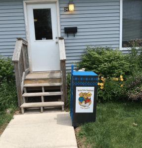 Little Library Box at COP Houses