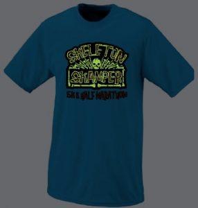 2014 Skeleton Skamper glow shirt