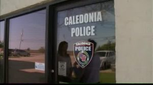 Officers with the Caledonia Police Department conducted compliance checks on sex offenders to see if they were following the village's ordinance that prohibits them from handing out candy during trick-or-treating hours.