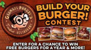 Georgie Porgie Burger Contest