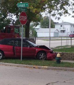 Racine accident 9:26 2