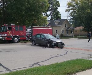 Racine accident 9:26