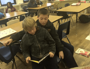 RCLA 6th graders reading 2