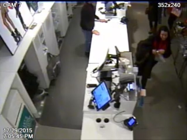 Woman's identity sought as person of interest in auto theft.