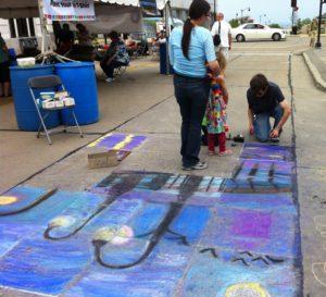 Monument Square Art Fair - kids area