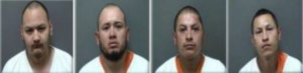 Manuel De Jesus Cruz Lira, 30, Alberto Ortega-Luna, 23, Rodrigo Ortega-Luna, 29, and Jose Luis Vital Sanchez, 27, were charged by the Racine County District Attorney's Office on Tuesday with second degree attempted intentional homicide -- party to a crime, and aggravated battery -- party to a crime.
